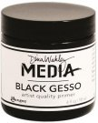 Dina Wakley Media Gesso - Black (118 ml)