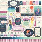 "Echo Park 12""x12"" Element Sticker Sheet - Mermaid Dreams"