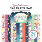 "Echo Park 6""x6"" Paper Pad - Mermaid Dreams (24 sheets)"