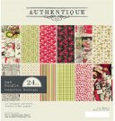 "Authentique 6""x6"" Cardstock Pad - Nostalgia (24 sheets)"