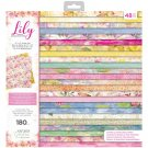 "Crafters Companion 12""x12"" Paper Pad - Lily Collection (48 sheets)"
