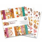 "Piatek13 12""x12"" Paper Pad - The Four Seasons Autumn (12 sheets)"