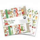"Piatek13 12""x12"" Paper Pad - Christmas Treats (12 sheets)"