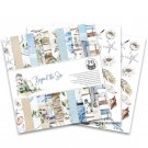 "Piatek13 12""x12"" Paper Pad - Beyond the Sea (12 sheets)"