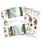 "Piatek13 12""x12"" Paper Pad - The Four Seasons Winter (12 sheets)"
