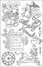 Prima Cling Stamp Set - Heaven Sent