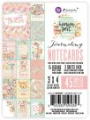 "Prima Heaven Sent Part-2 3""x4"" Journaling Notecards (45 pack)"