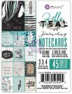 "Prima 3""x4"" Journaling Notecards Pack - Zella Teal (45 pack)"