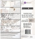 "Prima 6""x6"" Paper Pad - Pretty Pale (30 sheets)"
