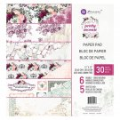 "Prima 12""x12"" Double-Sided Paper Pad - Pretty Mosaic (30 sheets)"