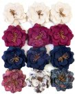 Prima Marketing Mulberry Paper Flowers - Beautiful Glow/Darcelle
