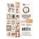 "Prima 3""x4"" Journaling Cards - Pumpkin & Spice (45 sheets)"