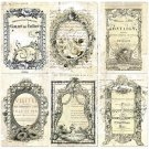 Prima Iron Orchid Designs Everyday Vintage Paintables Cards - Nostalgic Reflections (12 pack)