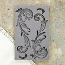 Prima Iron Orchid Designs Vintage Art Decor Mould - Large Flourish