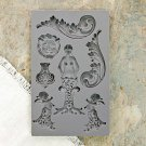 Prima Iron Orchid Designs Vintage Art Decor Mould - Nautica #2