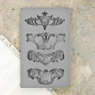 Prima Iron Orchid Designs Vintage Art Decor Mould - Royale
