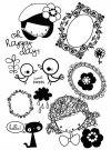 Prima Marketing Cling Stamps - Yuki Oh Happy Day