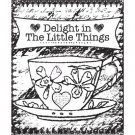 Prima Marketing Clear Stamp Set - Delight #2