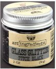 Prima Finnabair Art Ingredients Glass Glitter - Pitch Black (56g)