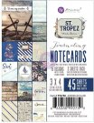 "Prima 3""x4"" Journaling Cards - St. Tropez (45 sheets)"