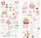 "Prima 6""x12"" Chipboard Stickers - Santa Baby (2 pack)"