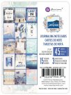 "Prima 3""x4"" Journaling Cards - Santorini (45 sheets)"