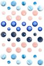 Prima Say It In Crystals Adhesive Embellishments - Santorini (48 pack)