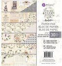 "Prima 6""x6"" Paper Pad - Spring Farmhouse (30 sheets)"