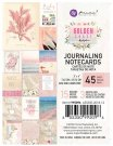 "Prima Marketing 3""x4"" Journaling Cards - Golden Coast (45 sheets)"