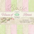 Lemoncraft 12x12 Basic Paper Collection - House of Roses (12 papers)