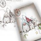 Polkadoodles Clear Stamps - Gnome Christmas Love