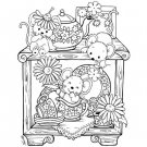 Stampavie Penny Johnson Clear Stamp - A Cupboard Full of Surprises