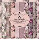 "Paper Favourites 12""x12"" Paper Pack - Pink Shabby Chic (8 sheets)"