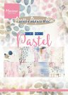 Marianne Design Paper Pad - Tinys Mixed Media Pastels