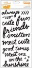 Project Life Amy Tan Rise & Shine Thickers Stickers - Grace Phrase (2 sheets)