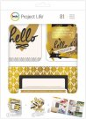 Project Life Value Kit - Be Fearless with Gold Foil Treatments (81 pack)