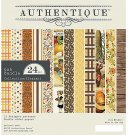 "Authentique - 6""x6"" Pleasant Bundle Paper Pad (24 sheets)"