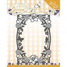 Precious Marieke Dies - Early Spring Flowers Rectangle Frame