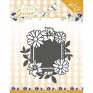 Precious Marieke Dies - Early Spring Flowers Square label