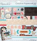 CREATIVE PAPERCRAFT KIT - FAMILY