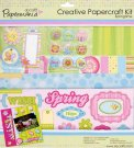 CREATIVE PAPERCRAFT KIT - SPRINGTIME