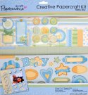 CREATIVE PAPERCRAFT KIT - BABY BOY