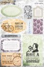 Docrafts A4 Die-cut Toppers 2 pack - Chronology (Totally Spiffing)