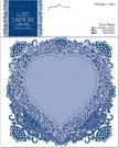 Docrafts Lace Paper  - Capsule Collection Parisienne Blue (12 pieces)