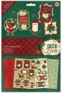Papermania A4 Decoupage Pack - Deck The Halls