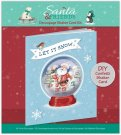 Papermania Decoupage Shaker Card Kit - Santa and Friends