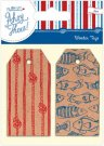 Docrafts Wooden Tags - Ahoy There (2 pieces)