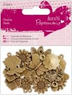 Docrafts Charm Pack - Papermania Flowers & Butterflies (21 pieces)