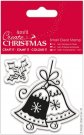 Docrafts Small Clear Stamps - Christmas Bell