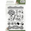 Precious Marieke Clear Stamp Set - Fantastic Flowers